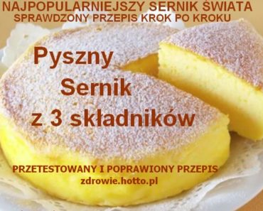 zdrowie.hotto.pl-sernik-3-skladniki-najpopularniejszy-przepis