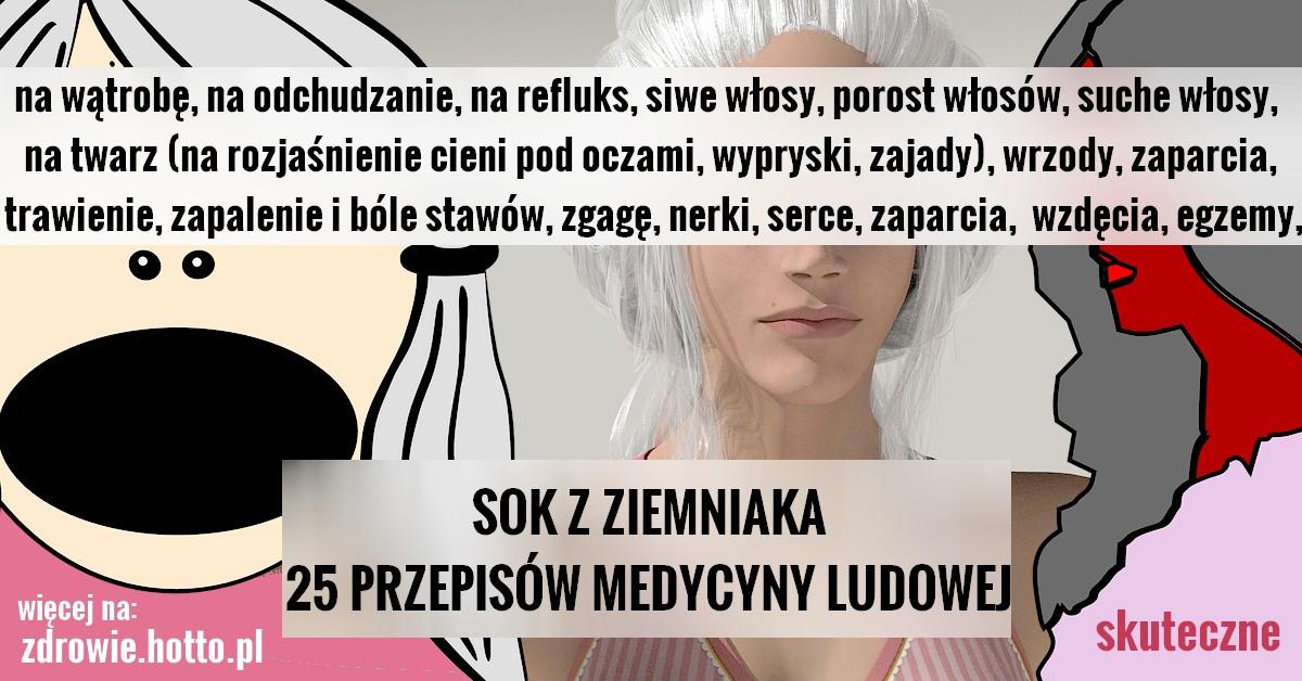 Zdrowie.hotto.pl sok z ziemniaka